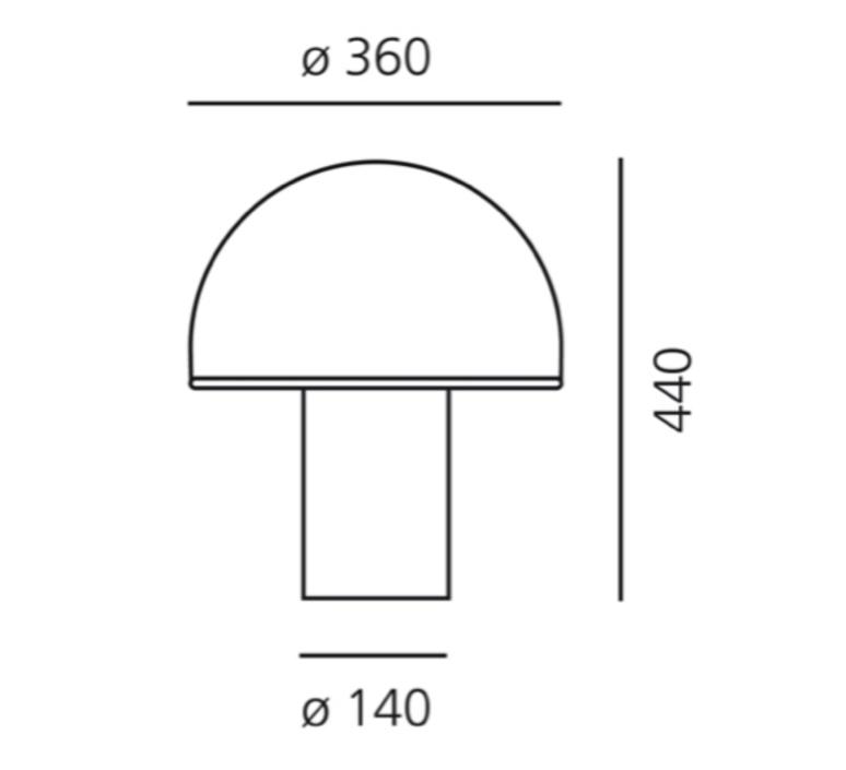 Alfa sergio mazza lampe a poser table lamp  artemide 0026010a  design signed nedgis 75712 product