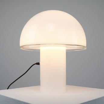 Lampe a poser onfale m blanc o28cm h34 5cm artemide normal