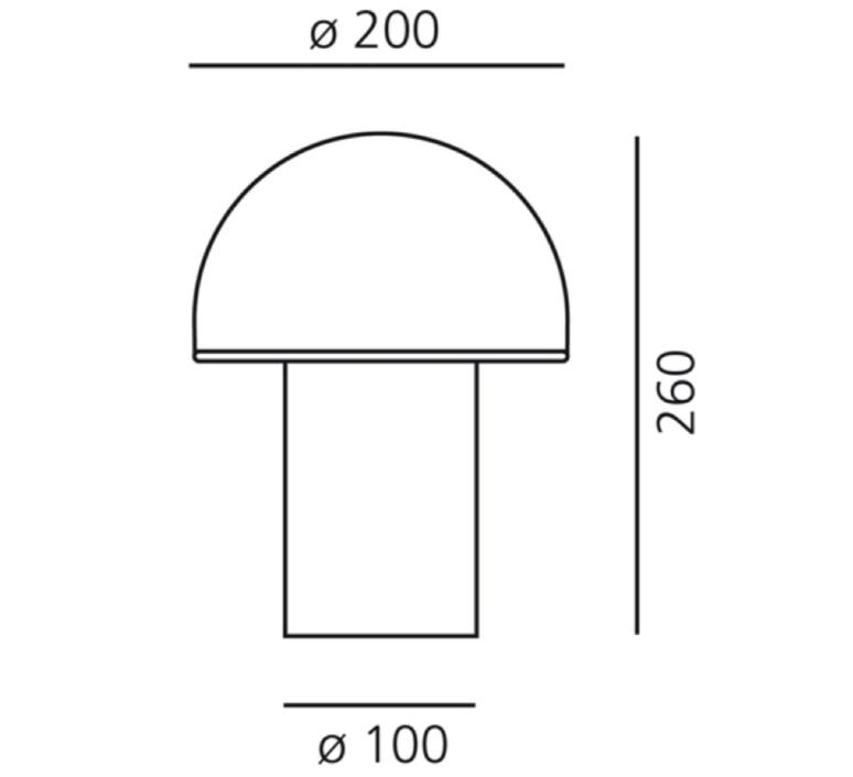 Mezzachimera s vico magistretti lampe a poser table lamp  artemide 0055010a  design signed nedgis 75722 product