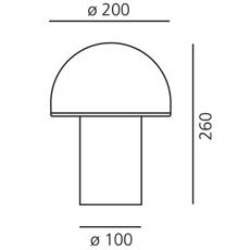 Mezzachimera s vico magistretti lampe a poser table lamp  artemide 0055010a  design signed nedgis 75722 thumb