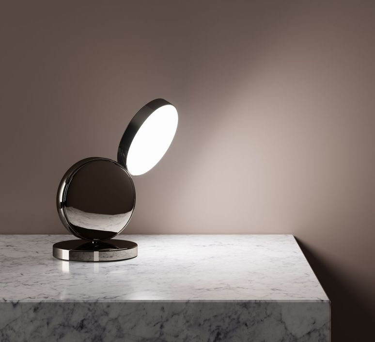 Optunia spotlight claesson koivisto rune lampe a poser table lamp  fontanaarte 4395oc   design signed 39324 product