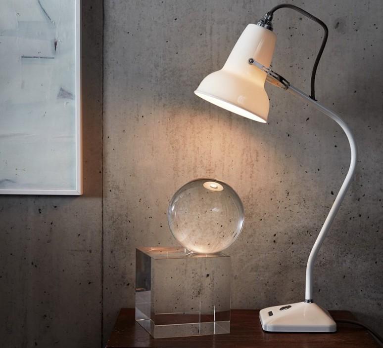 Table Lamp Original 1227 Mini White Ceramic O13cm H52cm