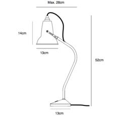 Original 1227 mini george carwardine lampe a poser table lamp  anglepoise 32236  design signed 40871 thumb