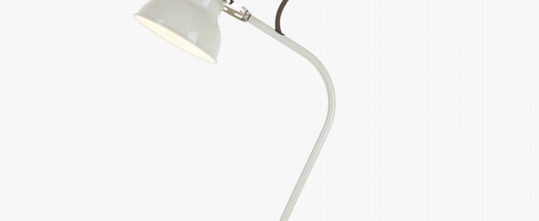Lampe a poser original 1227 mini blanc lin h52cm l28cm anglepoise normal