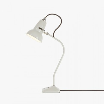 Lampe a poser original 1227 mini blanc lin h52cm l28cm anglepoise normal