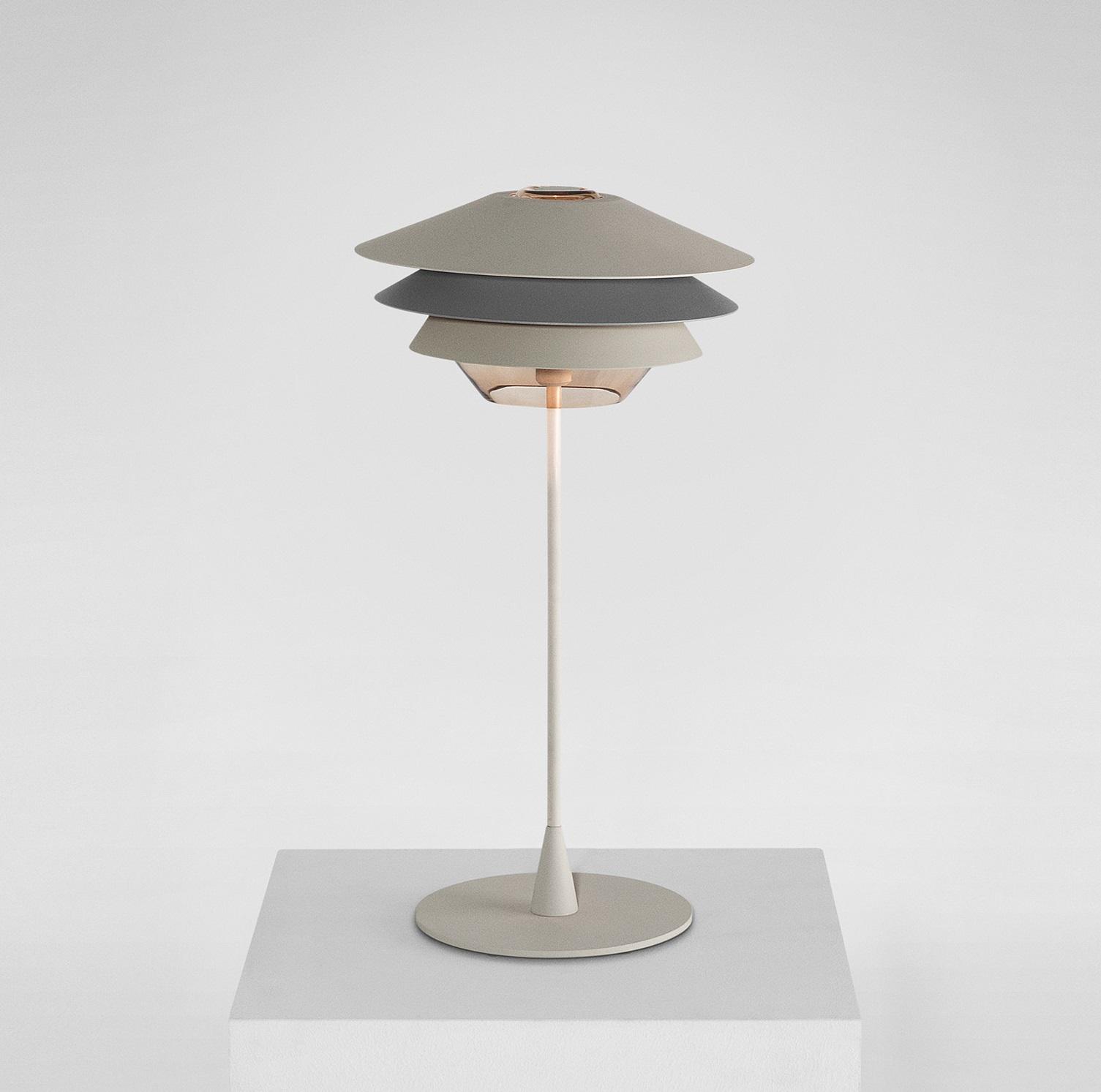 PoserOverlayBeigeGrisH50cm À Lampe Lampe Lux B À SVMqUpz