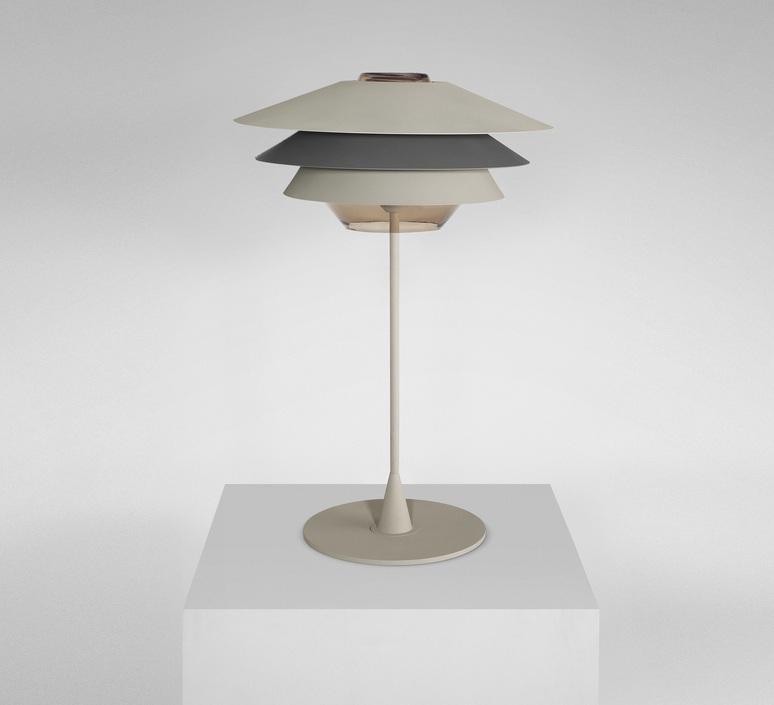 Overlay studio e27 b lux overlay t50 beige grey luminaire lighting design signed 18367 product