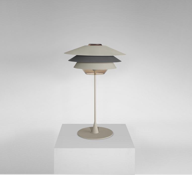 Overlay studio e27 b lux overlay t50 beige grey luminaire lighting design signed 18368 product