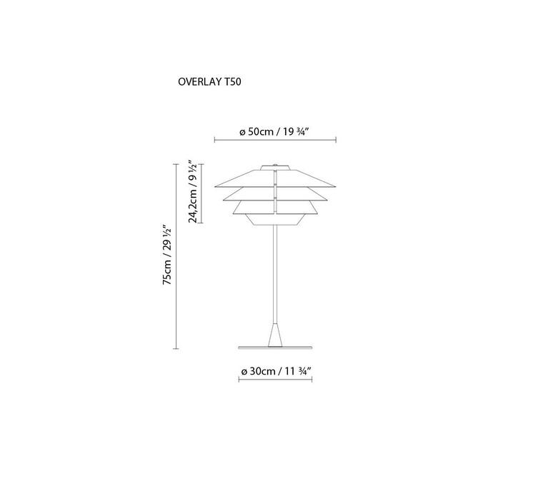 Overlay studio e27 b lux overlay t50 beige grey luminaire lighting design signed 18369 product