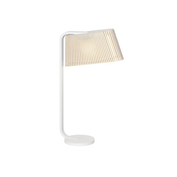 Lampe a poser owalo 7020 bouleau naturel led o7cm h50cm secto design normal