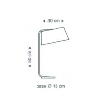 Owalo 7020 seppo koho lampe a poser table lamp  secto design 16 7020 21  design signed 41981 thumb