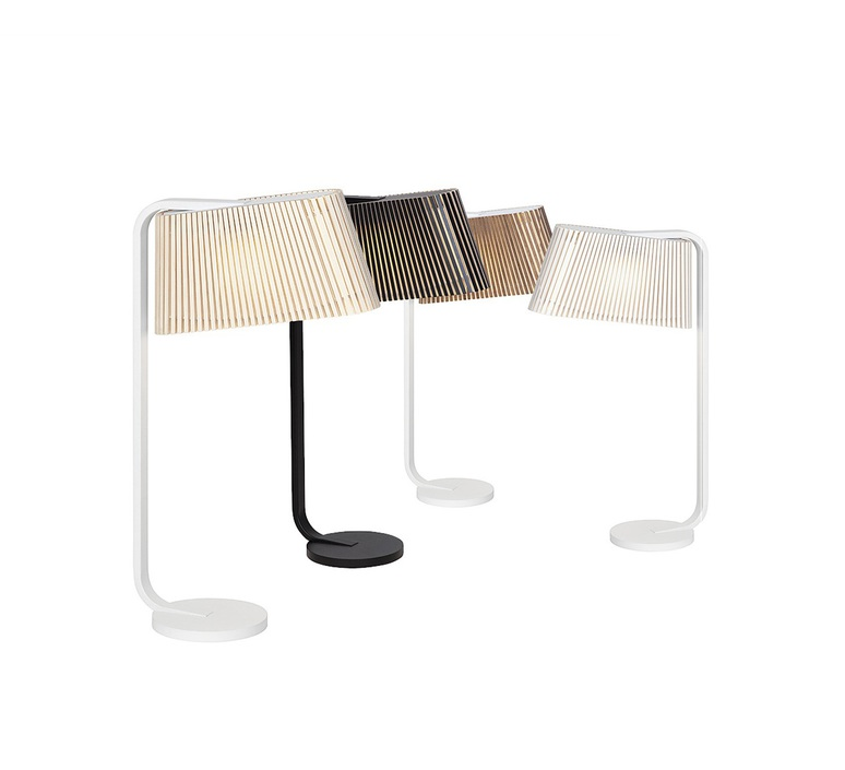 Owalo 7020 seppo koho lampe a poser table lamp  secto design 16 7020 21  design signed 41983 product
