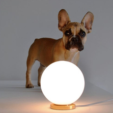 Pallina gio ponti lampe a poser table lamp  fontanaarte f443000150 ne laiton  design signed nedgis 79113 thumb