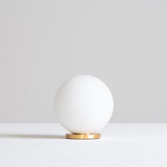 Lampe a poser pallina laiton o12cm h13cm fontana arte normal