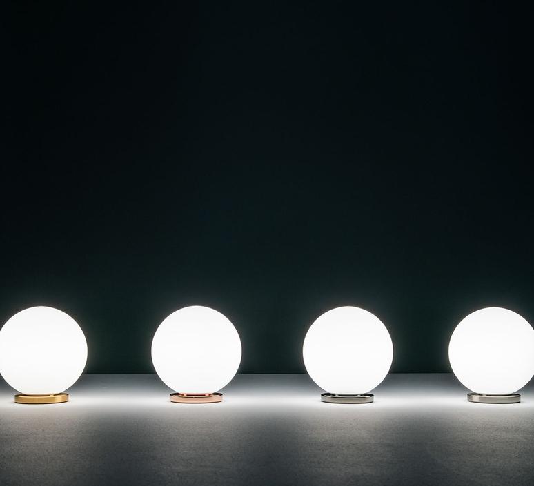 Pallina gio ponti lampe a poser table lamp  fontanaarte f443000150 ne nickel  design signed nedgis 79072 product