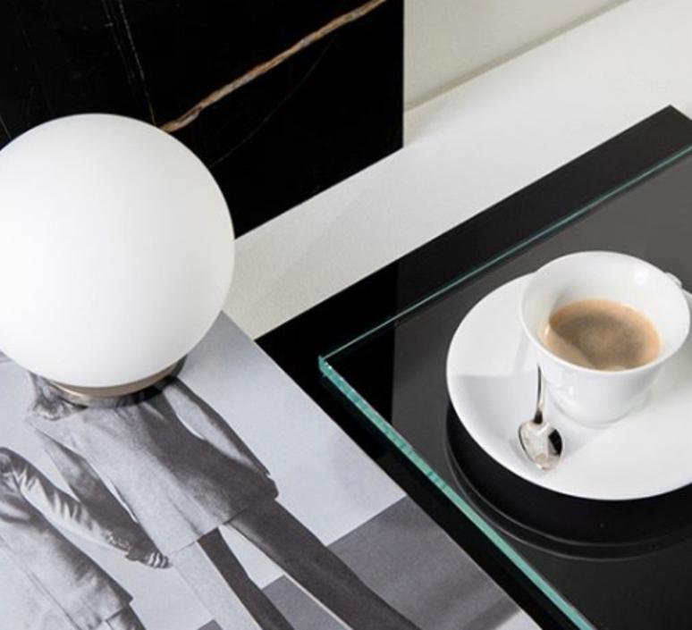 Pallina gio ponti lampe a poser table lamp  fontanaarte f443000150 ne nickel  design signed nedgis 79112 product