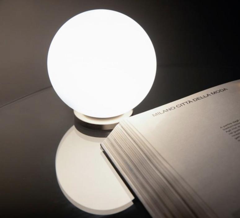 Pallina gio ponti lampe a poser table lamp  fontanaarte f443000150 ne noir  design signed nedgis 79116 product