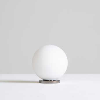 Lampe a poser pallina noir o12cm h13cm fontana arte normal