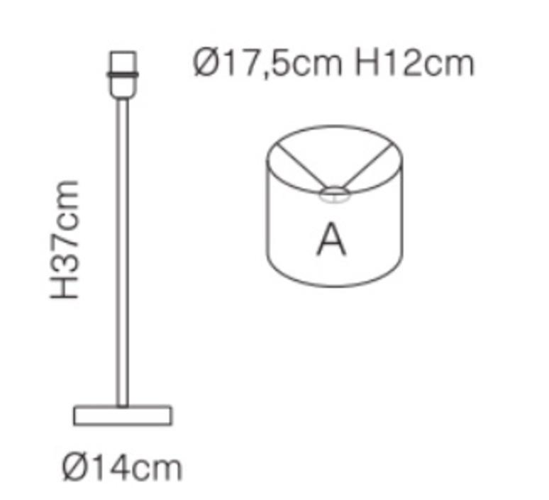 Palms susanne nielsen lampe a poser table lamp  ebb flow ba101206 sh101109t a  design signed nedgis 114233 product