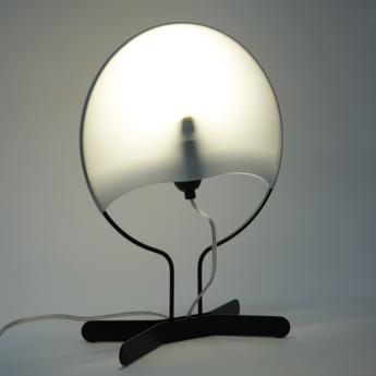 Lampe a poser palombella noir o27cm h37cm zava normal