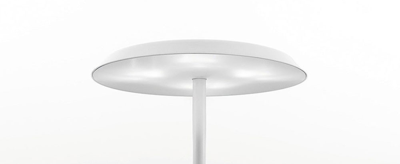 Lampe a poser panama blanc led 2700k 2000lm o35cm h45cm nemo lighting normal