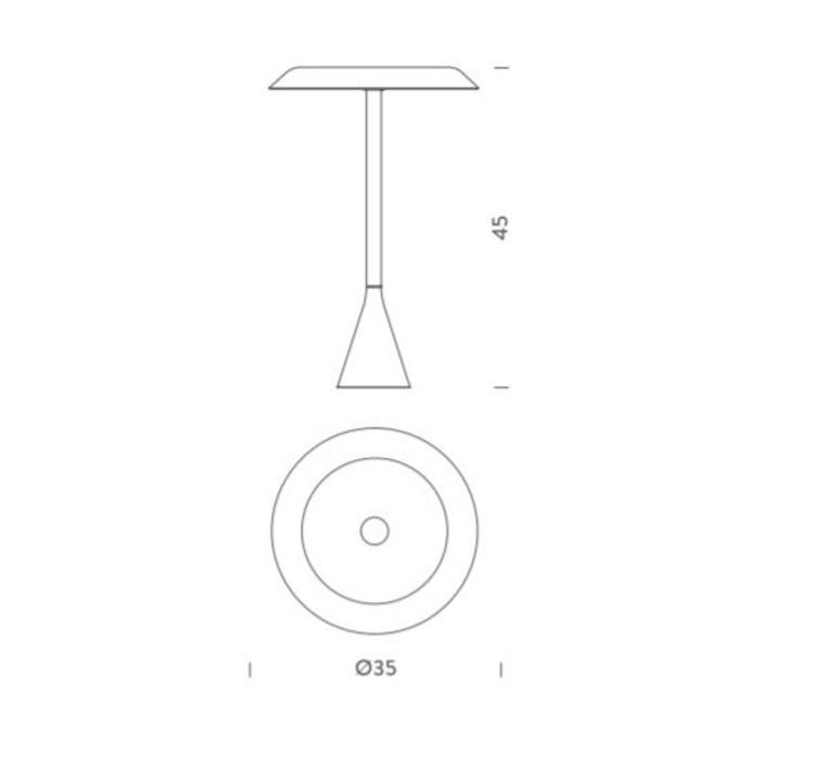 Panama euga design lampe a poser table lamp  nemo lighting pan lww 12  design signed 58294 product