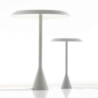 Lampe a poser panama mini blanc led 2700k 1890lm o20cm h30cm nemo lighting normal