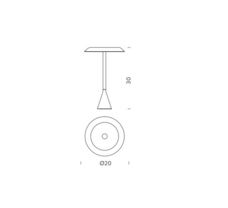 Panama mini euga design lampe a poser table lamp  nemo lighting pnm lxx 13  design signed 58316 product