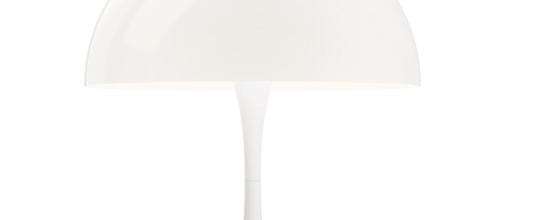 Lampe a poser panthella 320 blanc opale o32cm h43 8cm louis poulsen normal