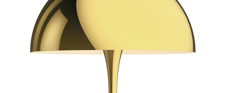 Lampe a poser panthella 320 laiton o32cm h43 8cm louis poulsen normal
