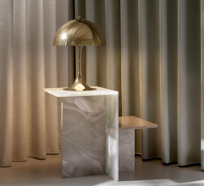 Panthella 320 verner panton lampe a poser table lamp  louis poulsen 5744167178  design signed nedgis 106287 product