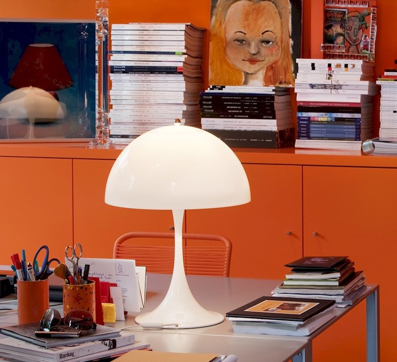 Panthella verner panton lampe a poser table lamp  louis poulsen 5744163415  design signed 48978 product