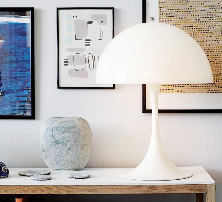 Panthella mini verner panton lampe a poser table lamp  louis poulsen 5744165235  design signed 56485 product
