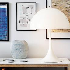Panthella mini verner panton lampe a poser table lamp  louis poulsen 5744165235  design signed 56485 thumb