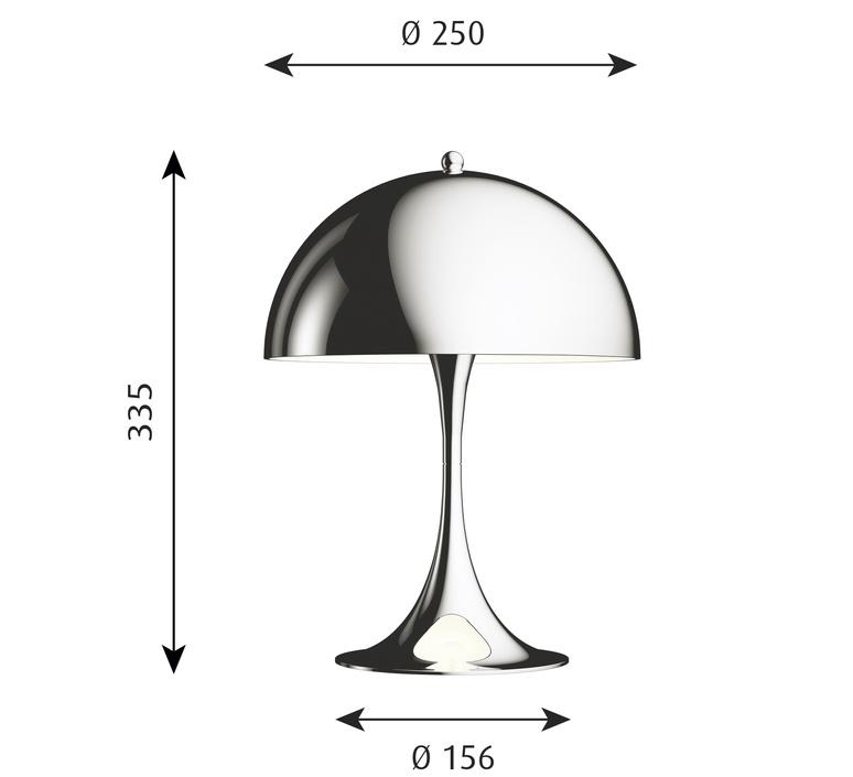 Panthella mini verner panton lampe a poser table lamp  louis poulsen 5744162555  design signed nedgis 106402 product