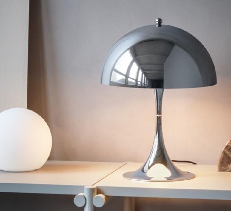 Panthella mini verner panton lampe a poser table lamp  louis poulsen 5744162555  design signed nedgis 106403 product