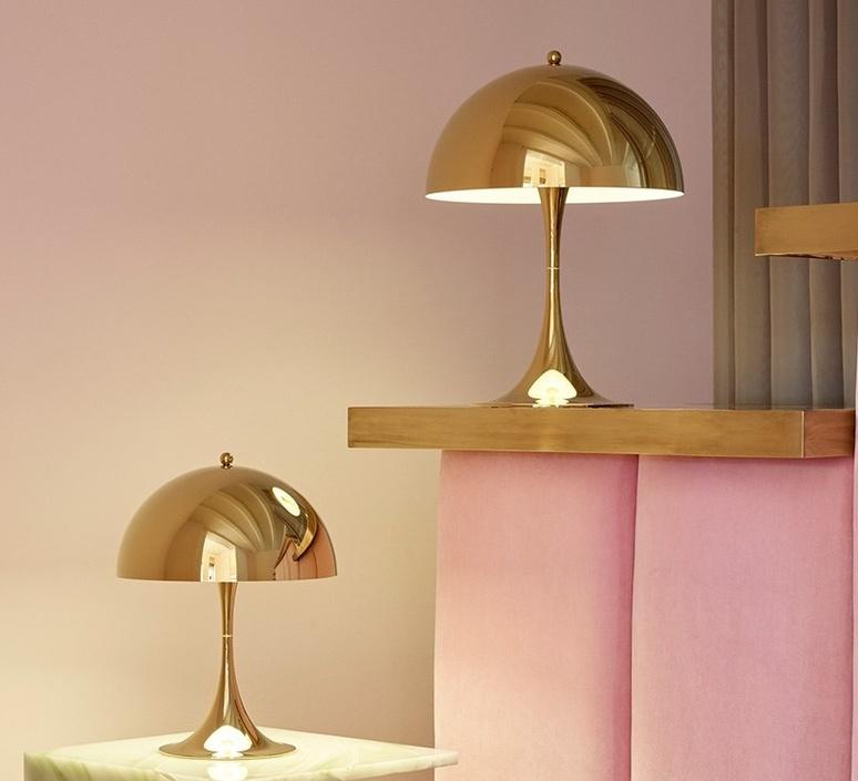 Panthella mini verner panton lampe a poser table lamp  louis poulsen 5744167110  design signed nedgis 106300 product