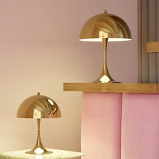 Panthella mini verner panton lampe a poser table lamp  louis poulsen 5744167110  design signed nedgis 106300 thumb