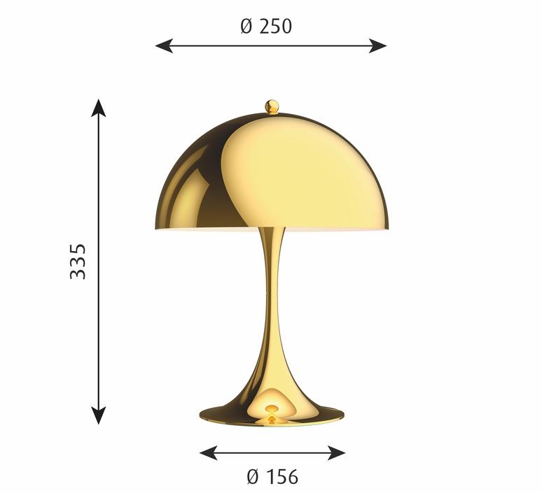 Panthella mini verner panton lampe a poser table lamp  louis poulsen 5744167110  design signed nedgis 106301 product