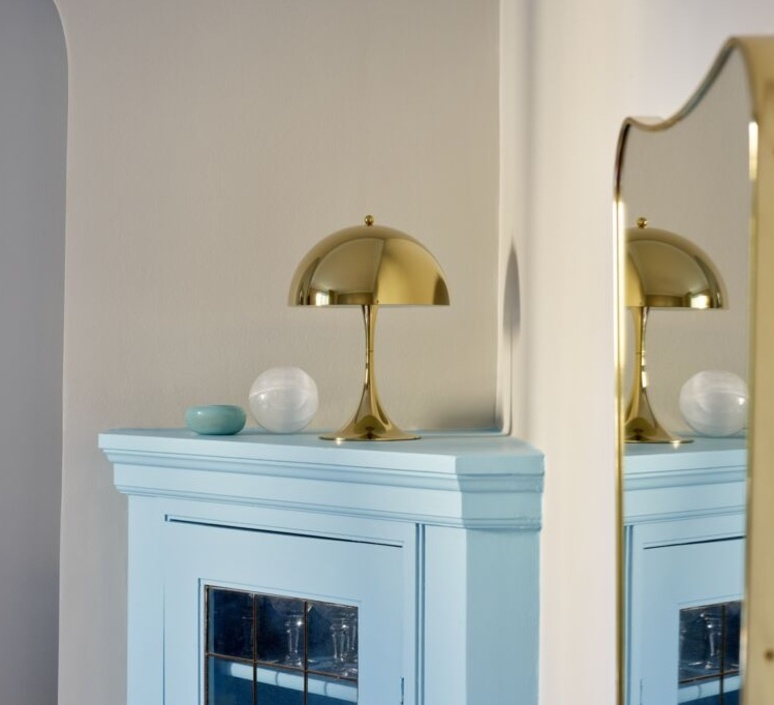 Panthella mini verner panton lampe a poser table lamp  louis poulsen 5744167110  design signed nedgis 107293 product
