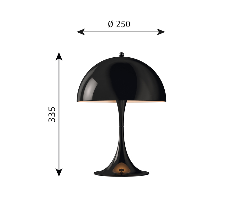 Panthella mini verner panton lampe a poser table lamp  louis poulsen 5744165222  design signed 48973 product