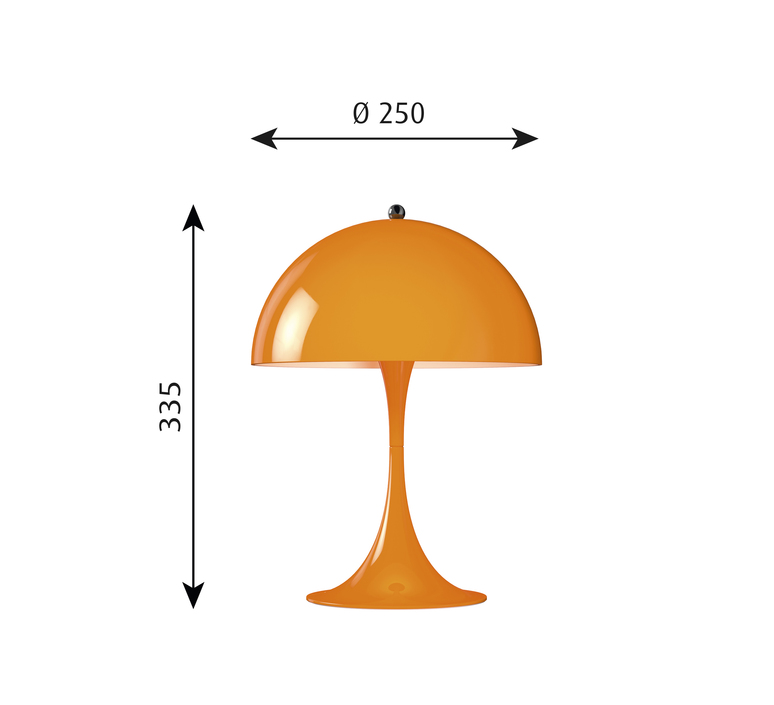 Panthella mini verner panton lampe a poser table lamp  louis poulsen 5744165264  design signed 48977 product