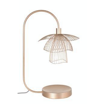 Lampe a poser papillon xs champagne l42cm h62cm forestier normal