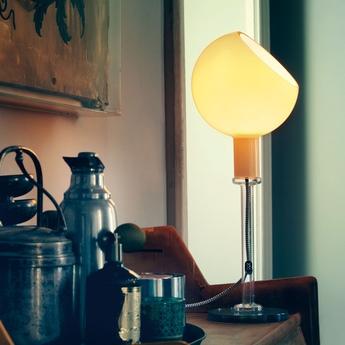 Lampe a poser parola ambre h53cm fontana arte normal