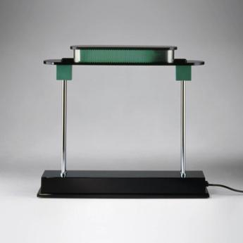 Lampe a poser pausania vert l48cm h43cm artemide normal