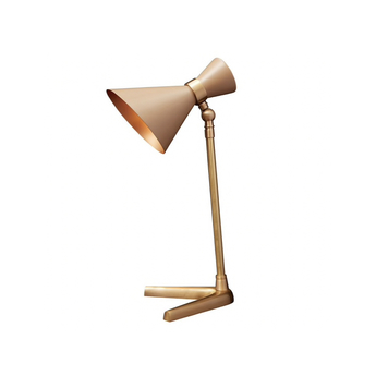 Lampe a poser peggy biscuit l32cm h66cm gong normal