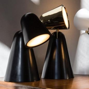 Lampe a poser peppone noir h26 5cm formagenda normal