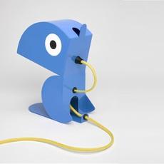 Perroquet bleu carmin design studio lampe a poser table lamp  bleu carmin design lmp animo 006  design signed nedgis 77290 thumb