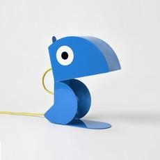 Perroquet bleu carmin design studio lampe a poser table lamp  bleu carmin design lmp animo 006  design signed nedgis 77291 thumb