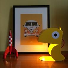 Perroquet bleu carmin design studio lampe a poser table lamp  bleu carmin design lmp animo 009  design signed nedgis 77305 thumb